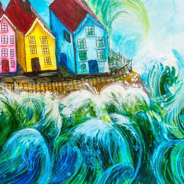 Sea Spray By Andrea Palmer