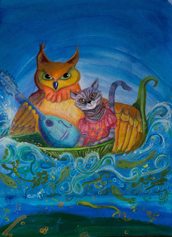 Pea Green Voyage by Andrea Palmer